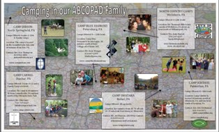 ABCOPAD Summer Camp Map